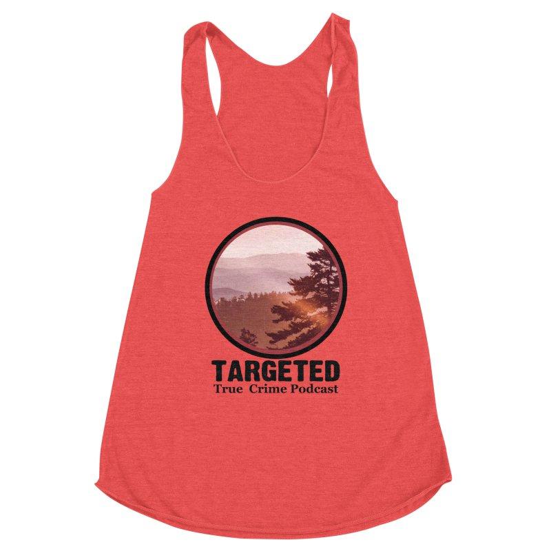 Mountain Logo Black Font Women's Tank by targetedpodcast's Artist Shop