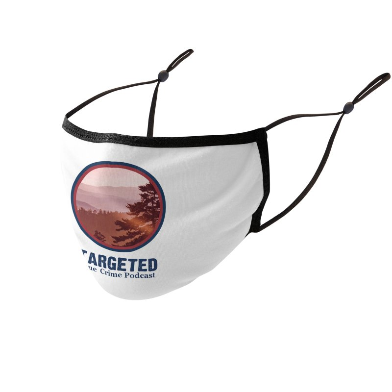 Targeted Podcast Mountain Logo Blue Accessories Face Mask by targetedpodcast's Artist Shop