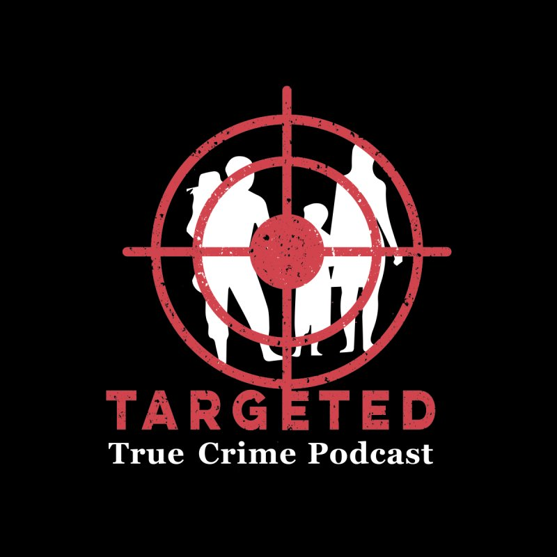 Targeted Podcast for Black Background Accessories Bag by targetedpodcast's Artist Shop