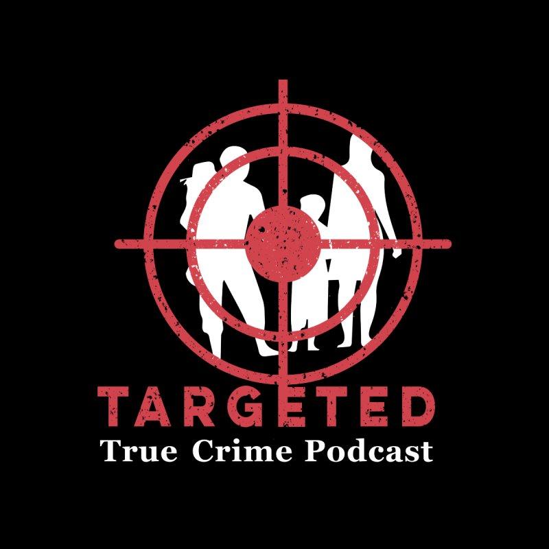 Targeted Podcast for Black Background Home Bath Mat by targetedpodcast's Artist Shop
