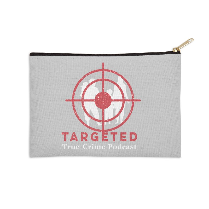 Targeted for Multicolor Backgrounds Accessories Zip Pouch by targetedpodcast's Artist Shop