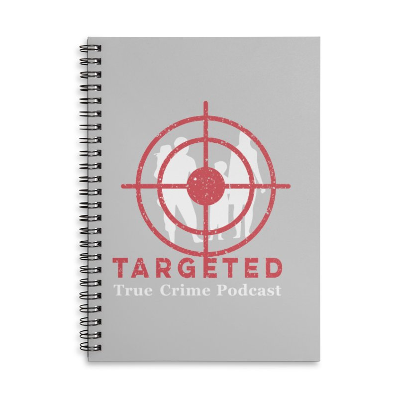 Targeted for Multicolor Backgrounds Accessories Notebook by targetedpodcast's Artist Shop
