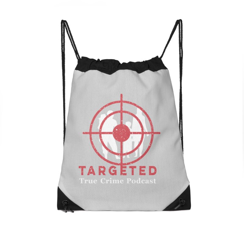 Targeted for Multicolor Backgrounds Accessories Drawstring Bag Bag by targetedpodcast's Artist Shop