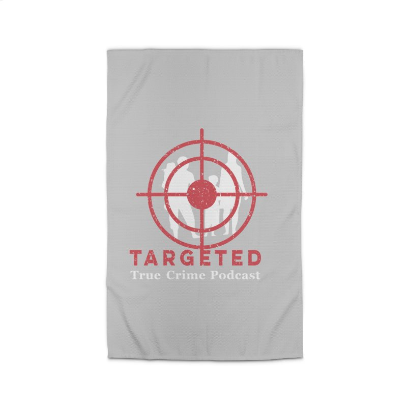 Targeted for Multicolor Backgrounds Home Rug by targetedpodcast's Artist Shop