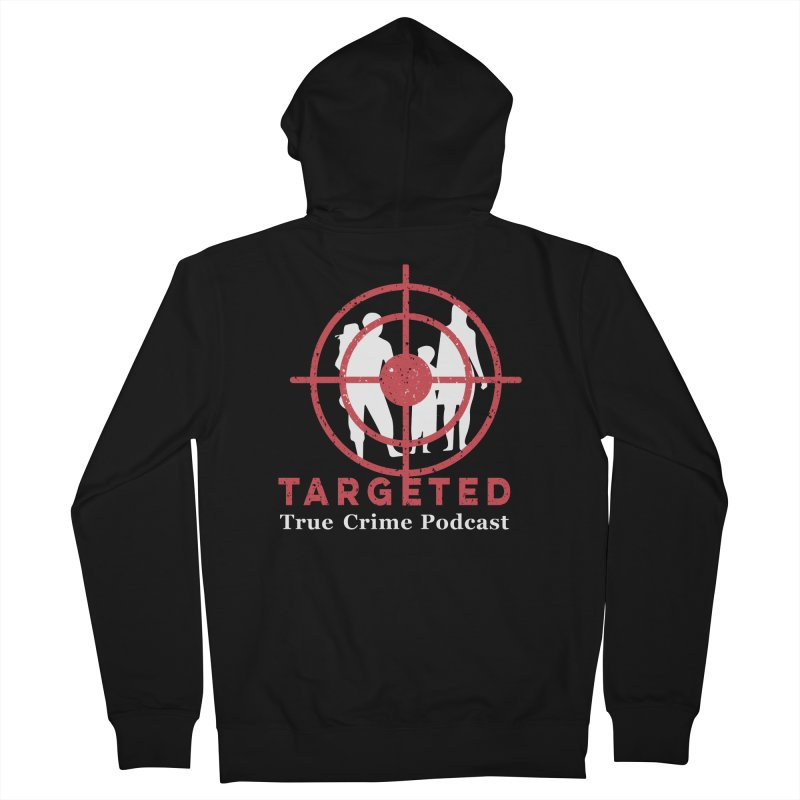 Targeted for Multicolor Backgrounds Women's French Terry Zip-Up Hoody by targetedpodcast's Artist Shop