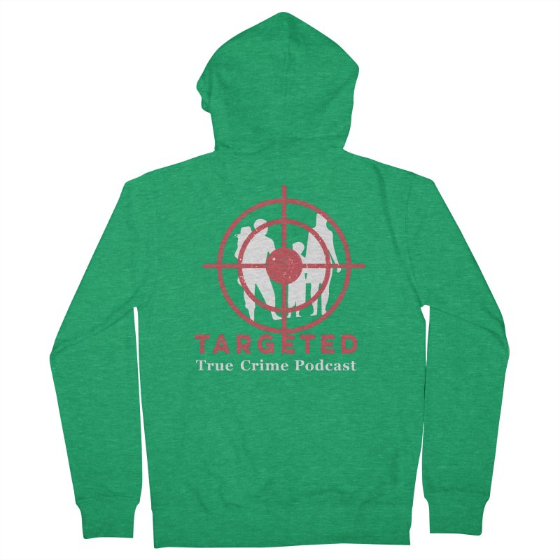 Targeted for Multicolor Backgrounds Men's Zip-Up Hoody by targetedpodcast's Artist Shop