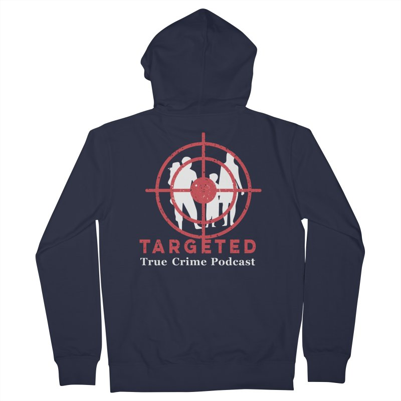 Targeted for Multicolor Backgrounds Men's French Terry Zip-Up Hoody by targetedpodcast's Artist Shop