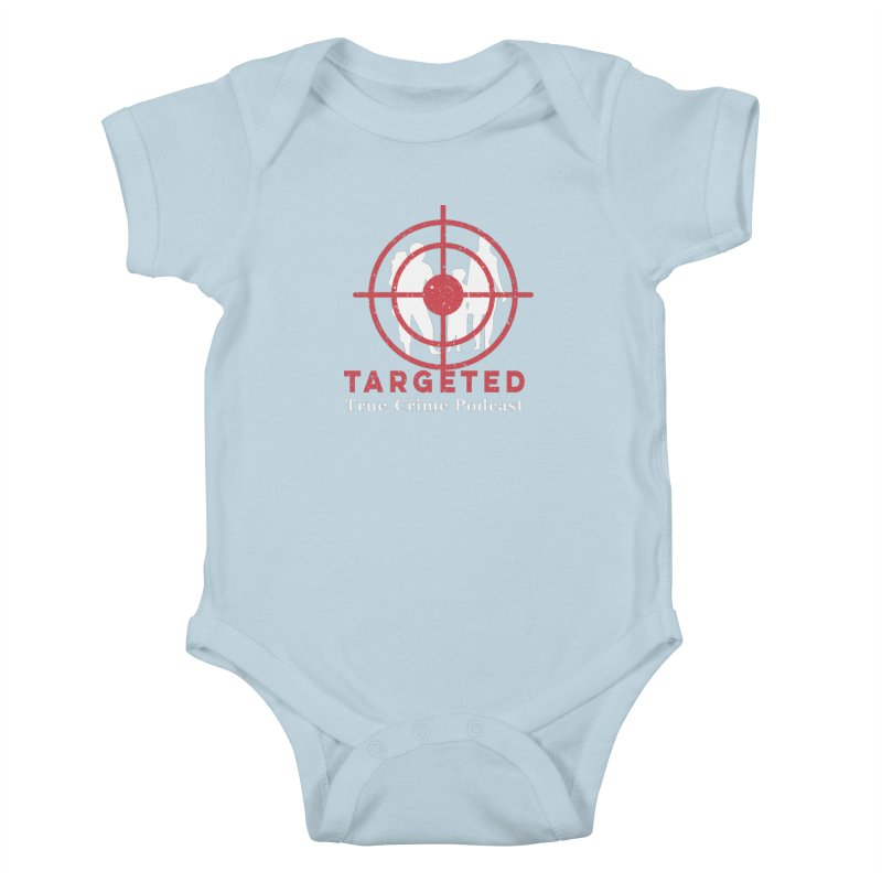 Targeted for Multicolor Backgrounds Kids Baby Bodysuit by targetedpodcast's Artist Shop