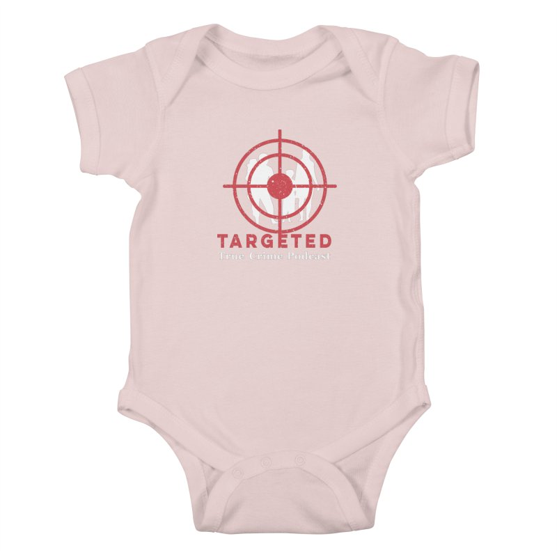 Targeted for Multicolor Backgrounds Kids Baby Bodysuit by targetedpodcast's Artist Shop