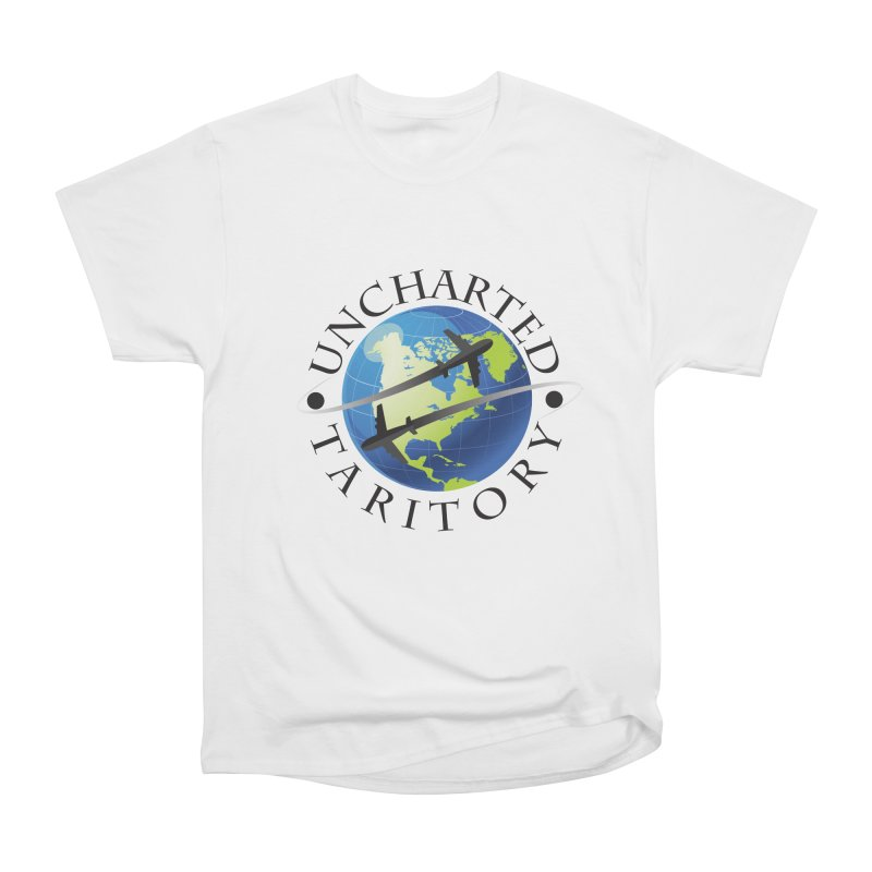 Uncharted Taritory Logo Men's Heavyweight T-Shirt by UnchartedTaritory's Artist Shop
