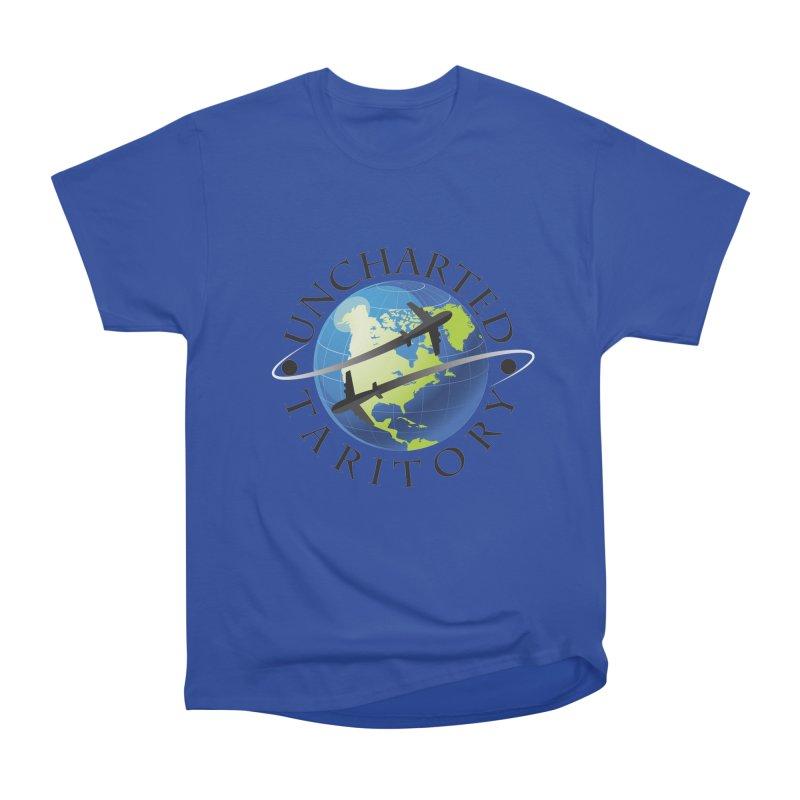 Uncharted Taritory Logo Men's Heavyweight T-Shirt by UnchartedTaritory's Artist Shop