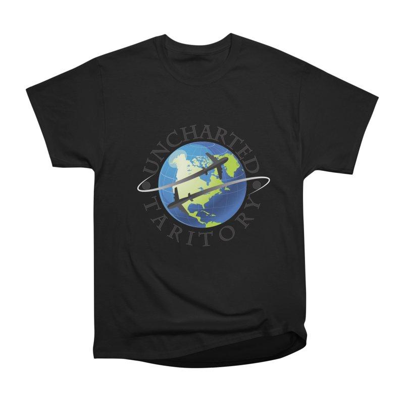 Uncharted Taritory Logo Women's Heavyweight Unisex T-Shirt by UnchartedTaritory's Artist Shop