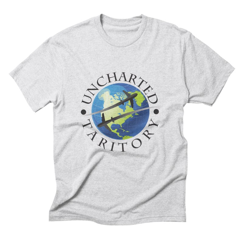 Uncharted Taritory Logo Men's Triblend T-Shirt by UnchartedTaritory's Artist Shop