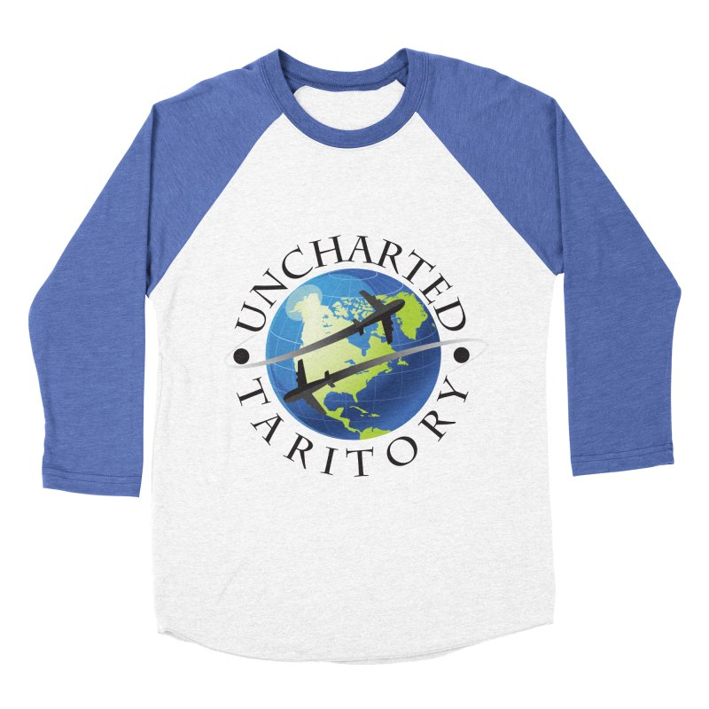 Uncharted Taritory Logo Women's Baseball Triblend Longsleeve T-Shirt by UnchartedTaritory's Artist Shop