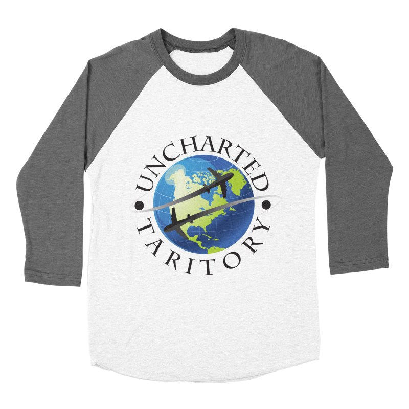 Uncharted Taritory Logo Men's Baseball Triblend Longsleeve T-Shirt by UnchartedTaritory's Artist Shop
