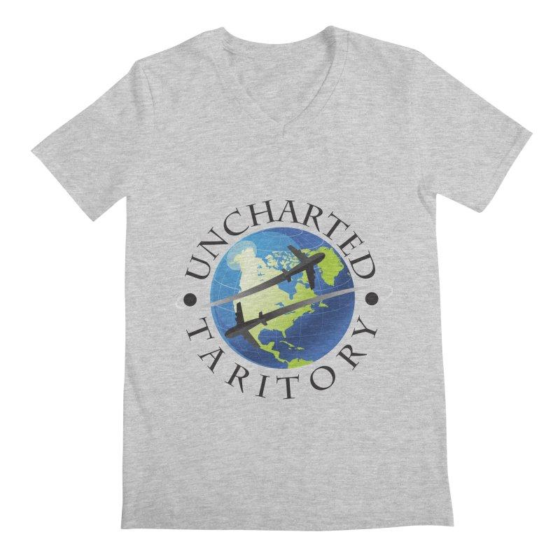 Uncharted Taritory Logo Men's Regular V-Neck by UnchartedTaritory's Artist Shop