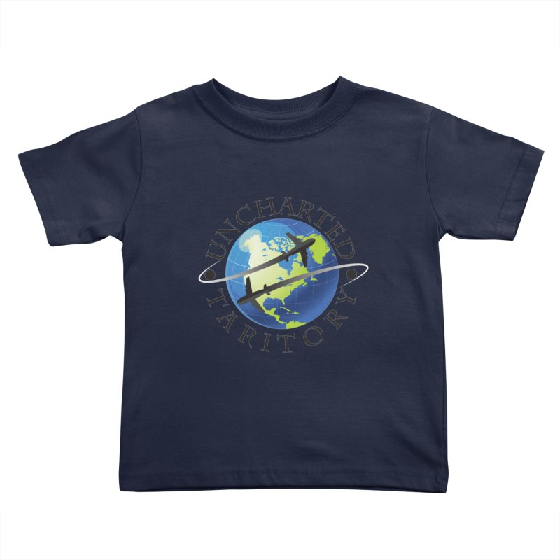 Uncharted Taritory Logo Kids Toddler T-Shirt by UnchartedTaritory's Artist Shop