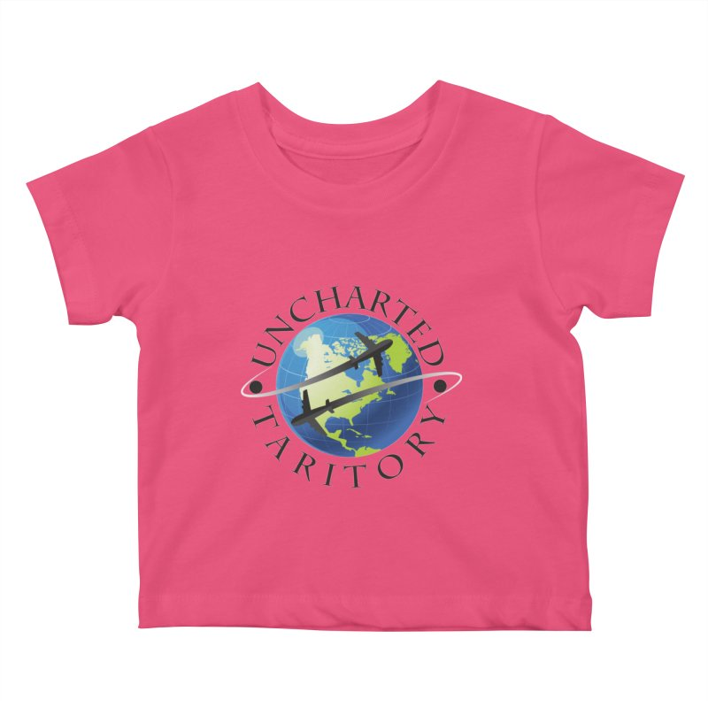 Uncharted Taritory Logo Kids Baby T-Shirt by UnchartedTaritory's Artist Shop