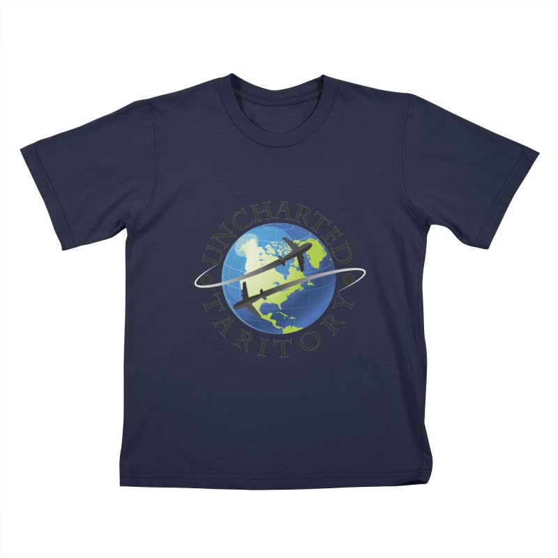 Uncharted Taritory Logo Kids T-Shirt by UnchartedTaritory's Artist Shop