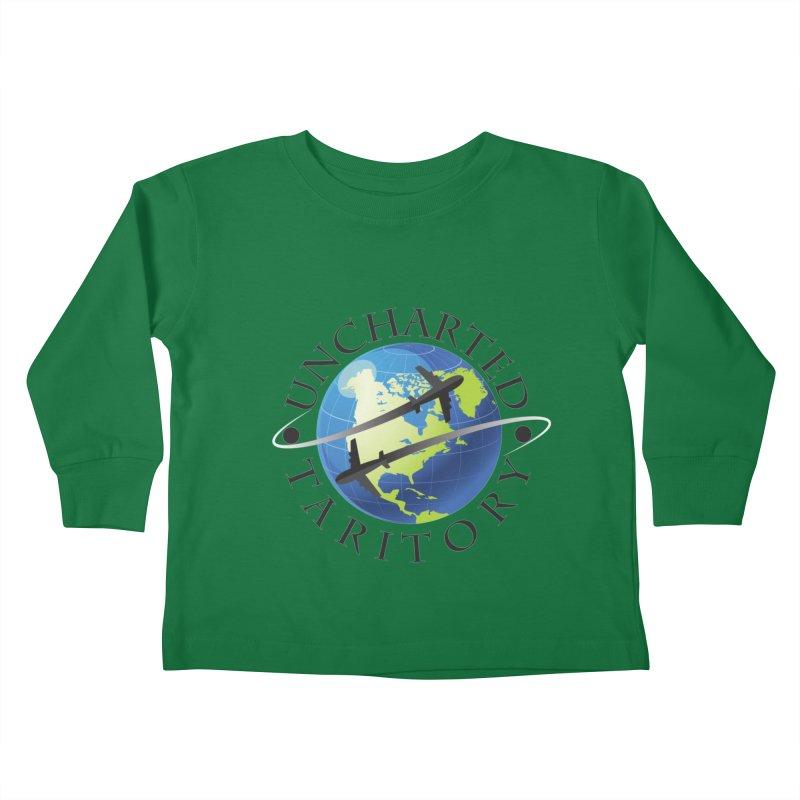 Uncharted Taritory Logo Kids Toddler Longsleeve T-Shirt by UnchartedTaritory's Artist Shop