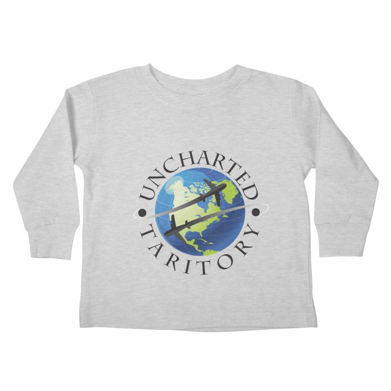 Uncharted Taritory Logo Kids Toddler Longsleeve T-Shirt by UnchartedTaritory's Artist Shop