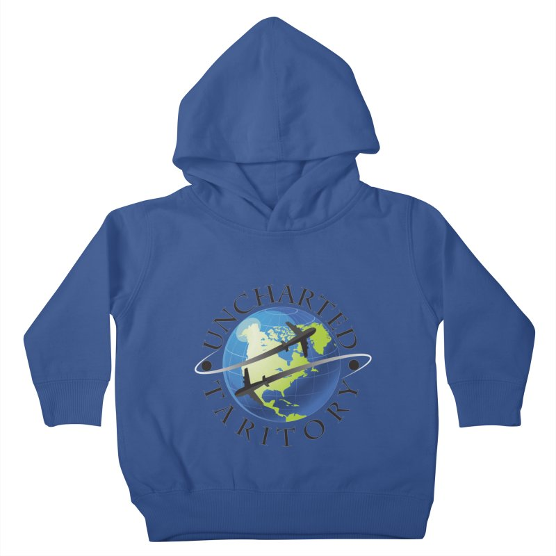 Uncharted Taritory Logo Kids Toddler Pullover Hoody by UnchartedTaritory's Artist Shop