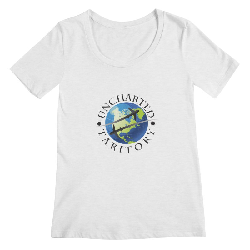 Uncharted Taritory Logo Women's Regular Scoop Neck by UnchartedTaritory's Artist Shop