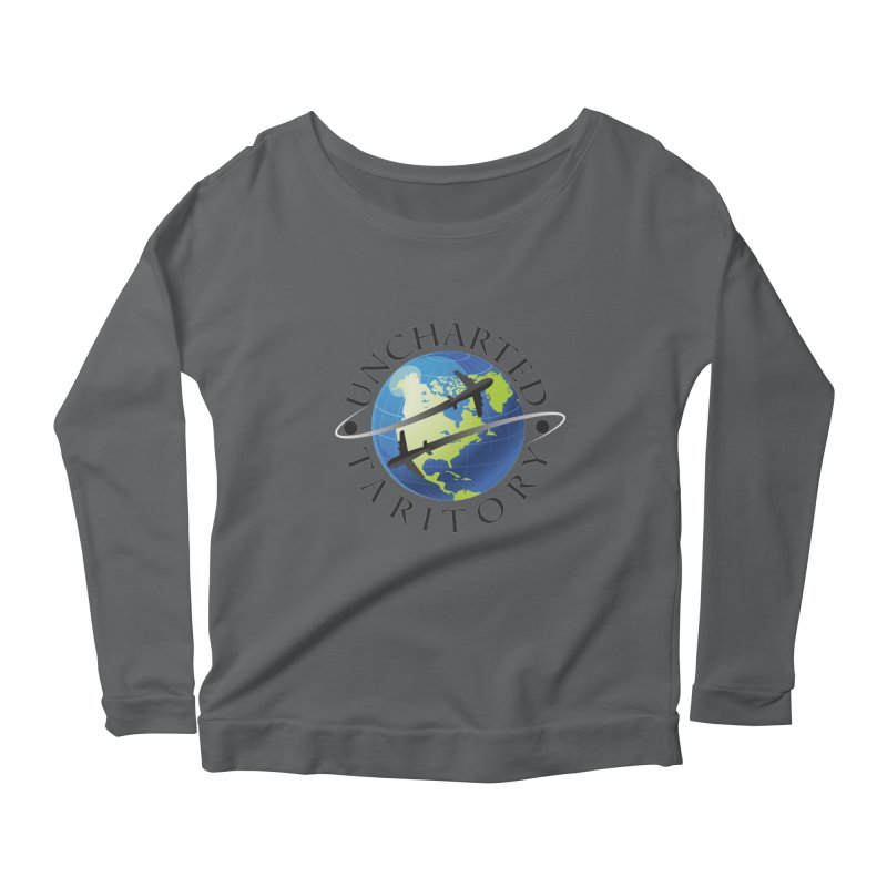 Uncharted Taritory Logo Women's Scoop Neck Longsleeve T-Shirt by UnchartedTaritory's Artist Shop