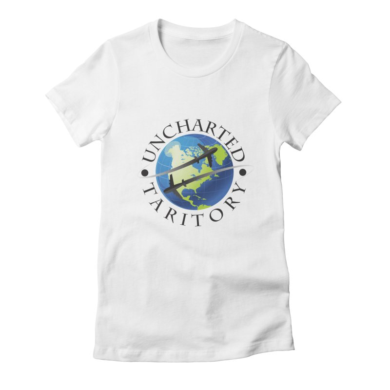 Uncharted Taritory Logo Women's Fitted T-Shirt by UnchartedTaritory's Artist Shop