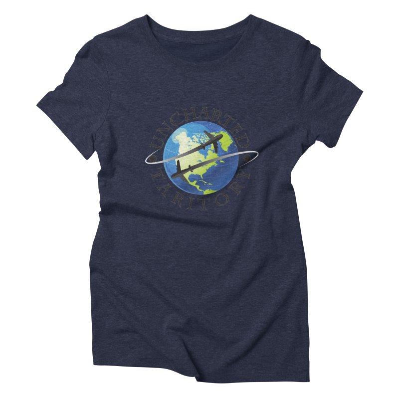 Uncharted Taritory Logo Women's Triblend T-Shirt by UnchartedTaritory's Artist Shop