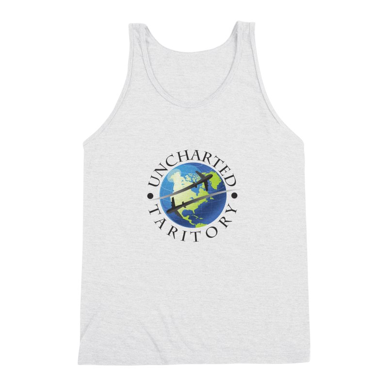 Uncharted Taritory Logo Men's Triblend Tank by UnchartedTaritory's Artist Shop