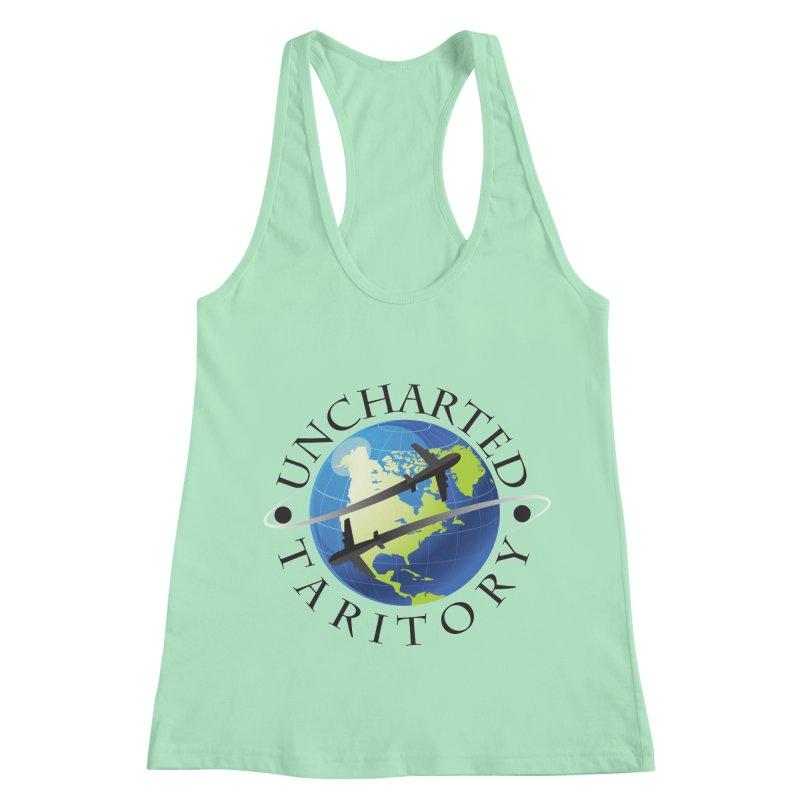 Uncharted Taritory Logo Women's Racerback Tank by UnchartedTaritory's Artist Shop