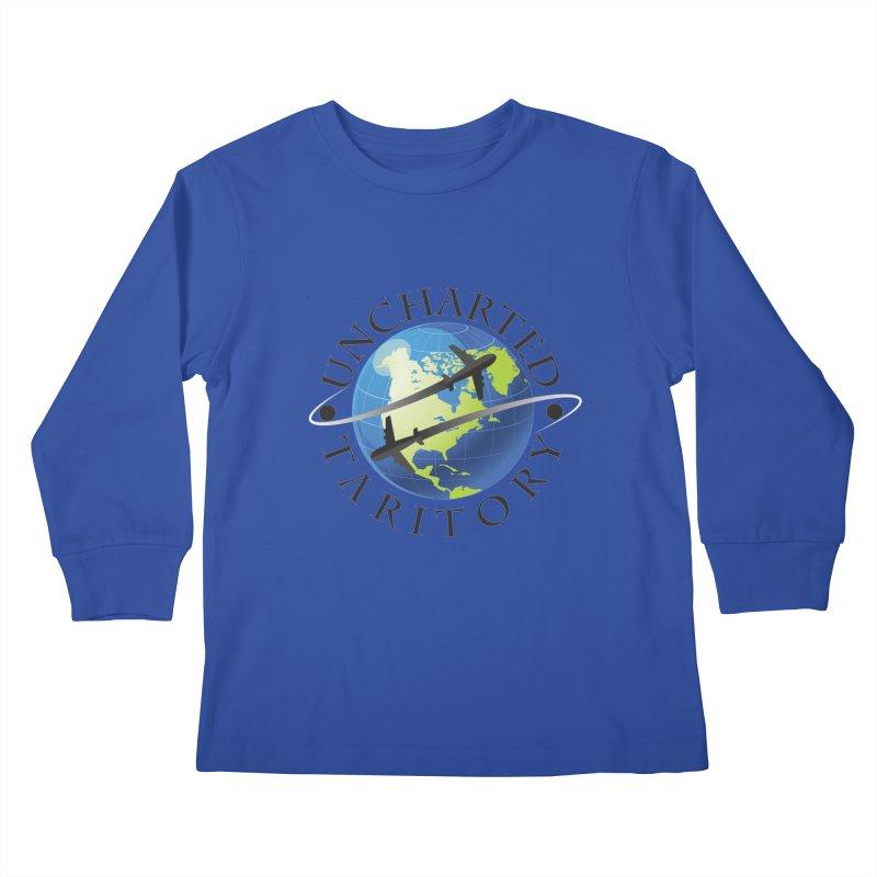 Uncharted Taritory Logo Kids Longsleeve T-Shirt by UnchartedTaritory's Artist Shop