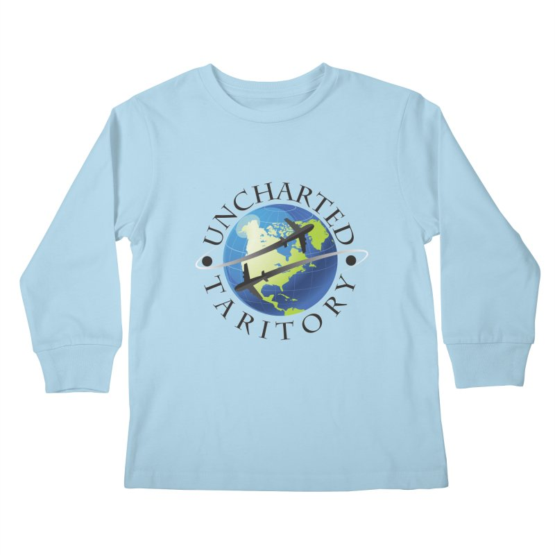 Uncharted Taritory Logo Kids Longsleeve T-Shirt by UnchartedTaritory's Artist Shop