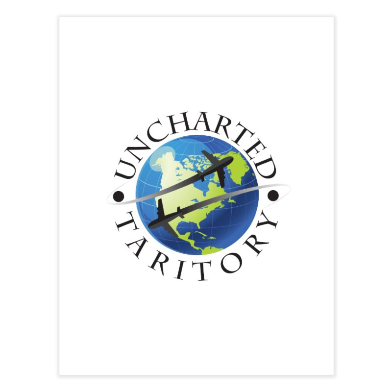 Uncharted Taritory Logo Home Fine Art Print by UnchartedTaritory's Artist Shop