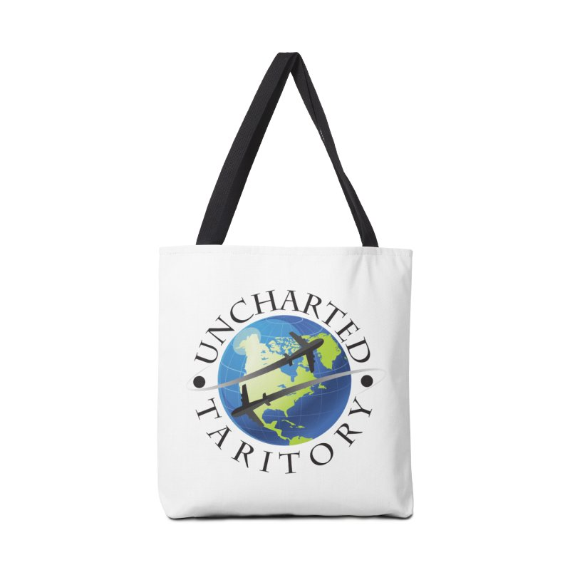 Uncharted Taritory Logo Accessories Bag by UnchartedTaritory's Artist Shop