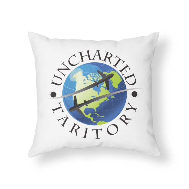 Uncharted Taritory Logo Home Throw Pillow by UnchartedTaritory's Artist Shop