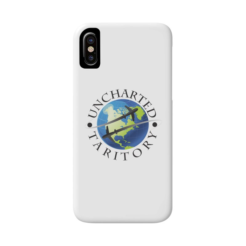 Uncharted Taritory Logo Accessories Phone Case by UnchartedTaritory's Artist Shop