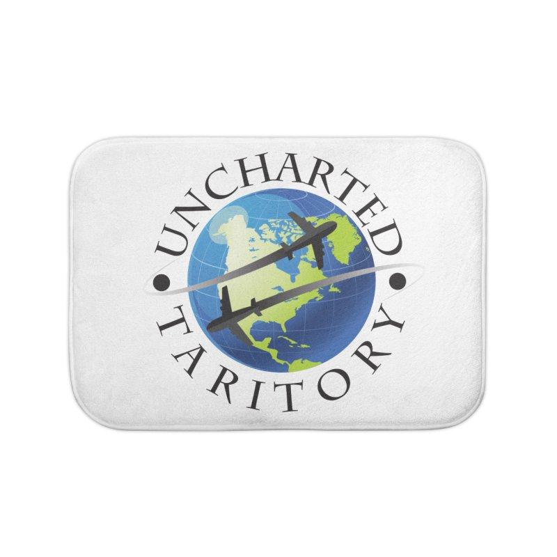 Uncharted Taritory Logo Home Bath Mat by UnchartedTaritory's Artist Shop