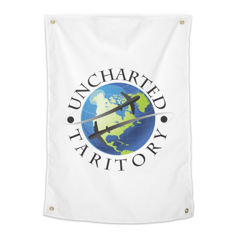 Uncharted Taritory Logo Home Tapestry by UnchartedTaritory's Artist Shop