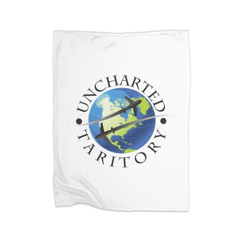 Uncharted Taritory Logo Home Fleece Blanket Blanket by UnchartedTaritory's Artist Shop