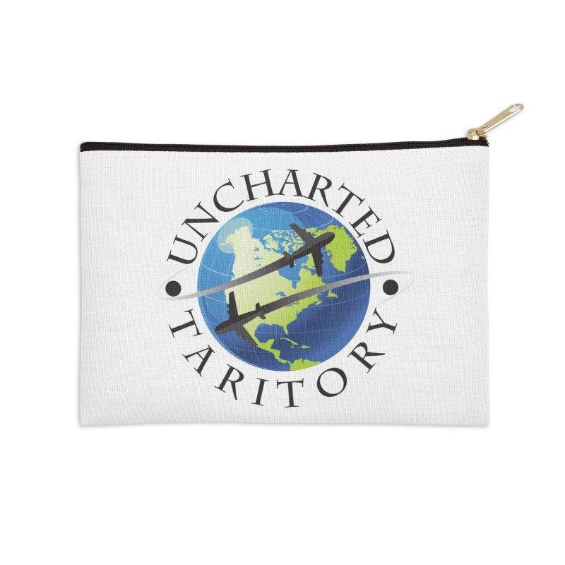 Uncharted Taritory Logo Accessories Zip Pouch by UnchartedTaritory's Artist Shop