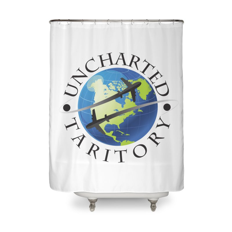 Uncharted Taritory Logo Home Shower Curtain by UnchartedTaritory's Artist Shop
