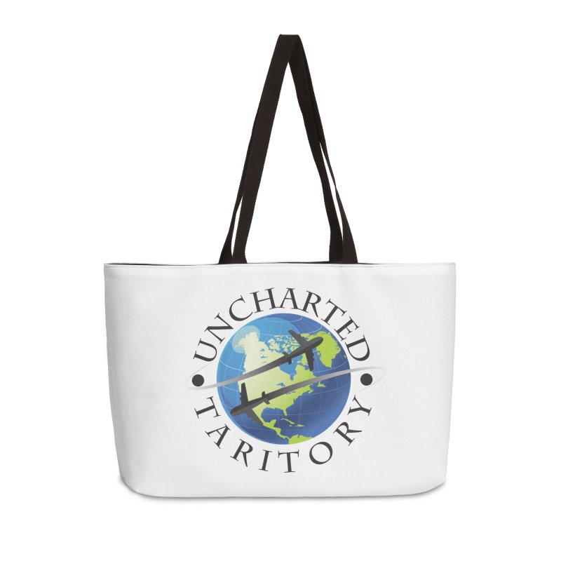 Uncharted Taritory Logo Accessories Weekender Bag Bag by UnchartedTaritory's Artist Shop