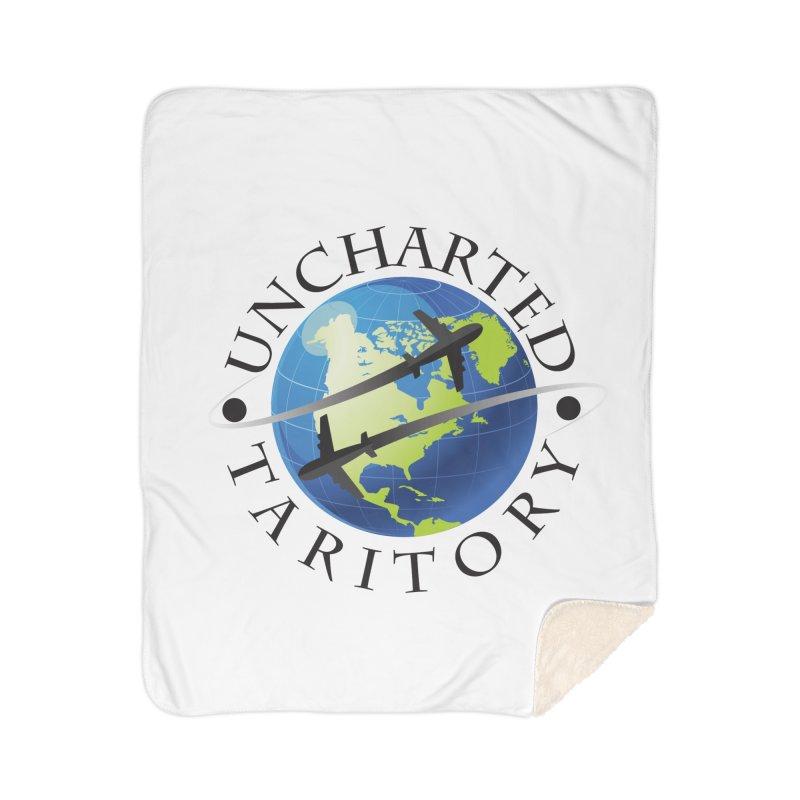 Uncharted Taritory Logo Home Sherpa Blanket Blanket by UnchartedTaritory's Artist Shop