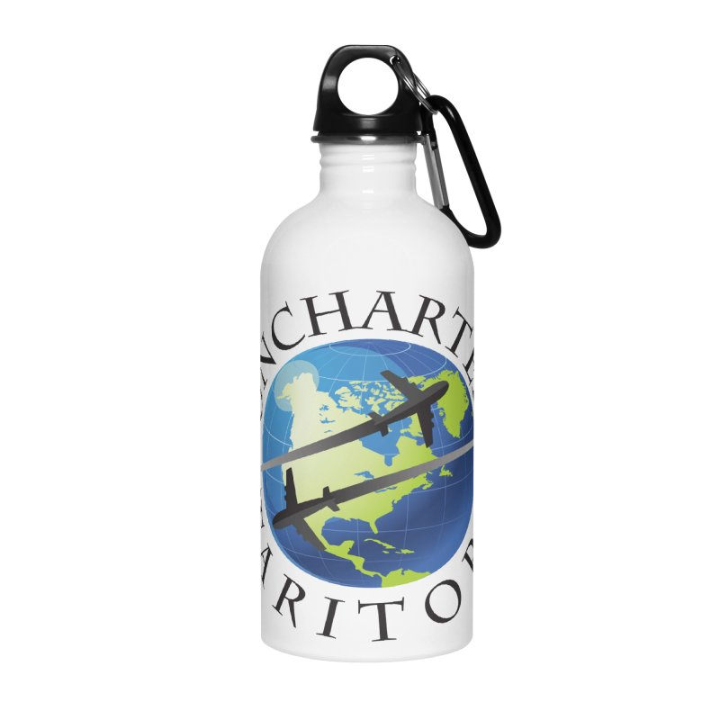 Uncharted Taritory Logo Accessories Water Bottle by UnchartedTaritory's Artist Shop