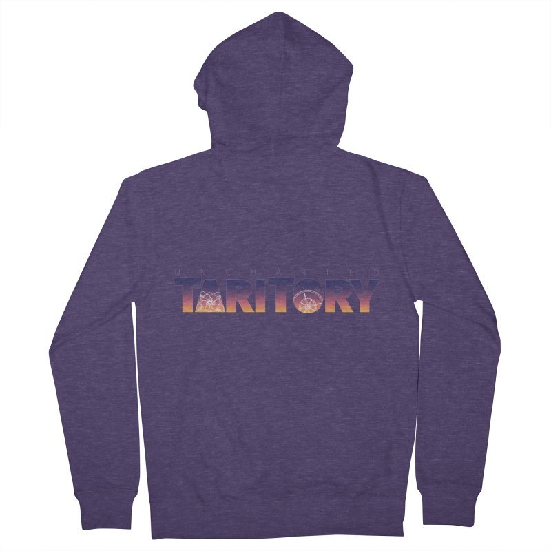 Uncharted Taritory Men's French Terry Zip-Up Hoody by UnchartedTaritory's Artist Shop