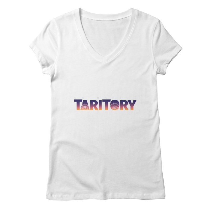Uncharted Taritory Women's Regular V-Neck by UnchartedTaritory's Artist Shop