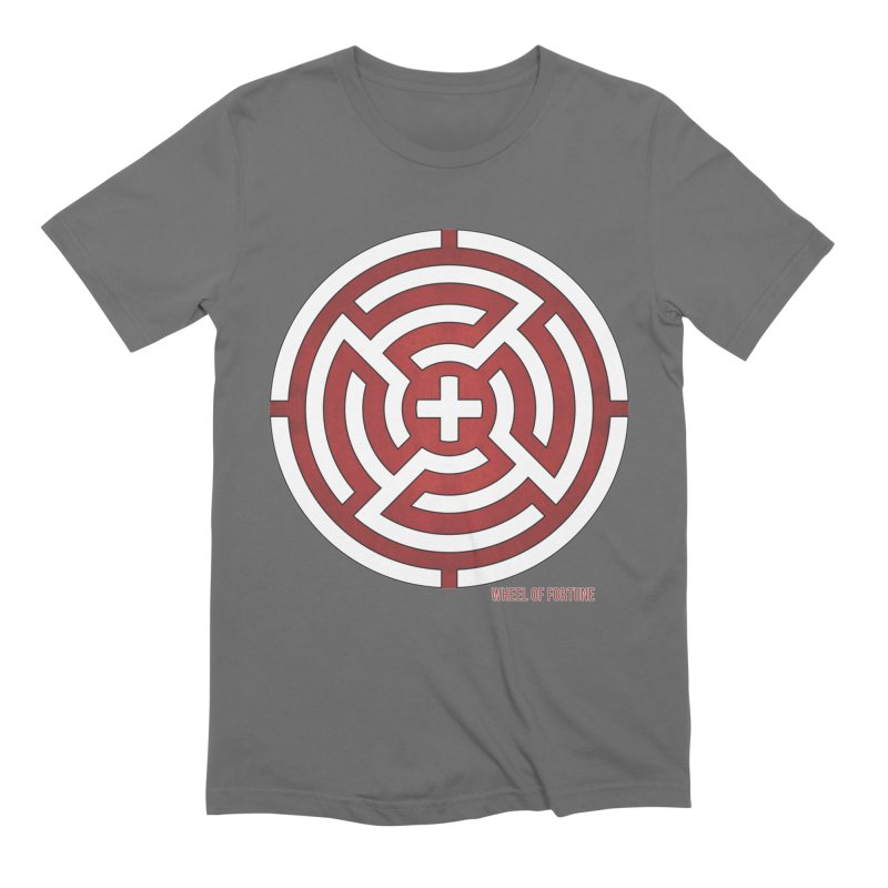 AHT Wheel of Fortune in Men's Extra Soft T-Shirt Asphalt by Tarotator shop