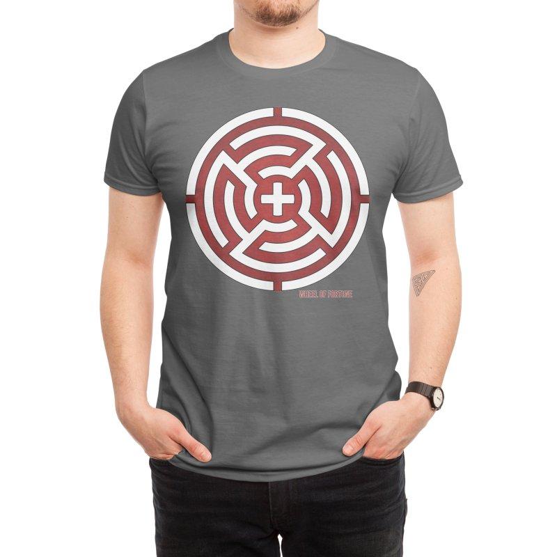 AHT Wheel of Fortune Men's T-Shirt by Tarotator shop